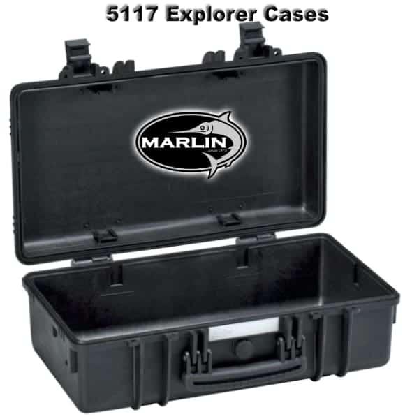 5117 Explorer Cases schwarz leer