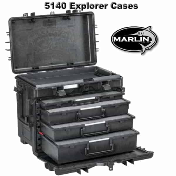 5140 Explorer Cases Schaumstoff