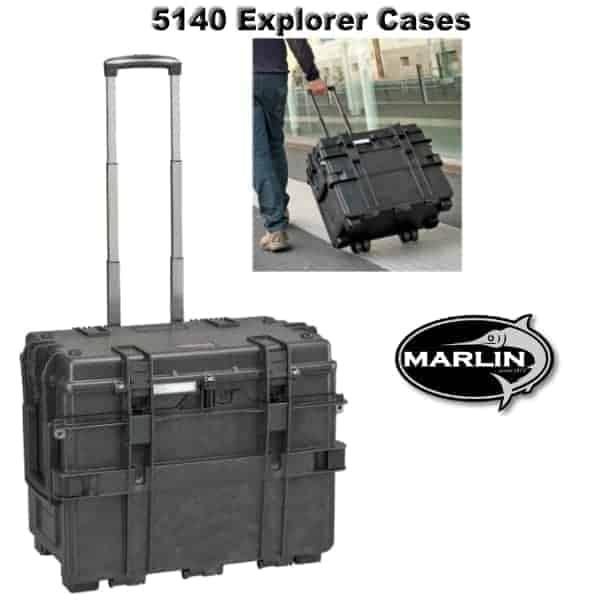 5140 Explorer Cases mit Rollen
