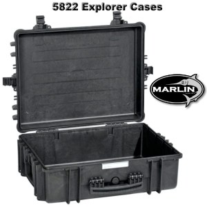5822 Explorer Cases schwarz leer