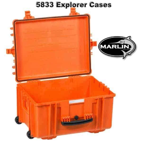 5833 Explorer Cases orange leer