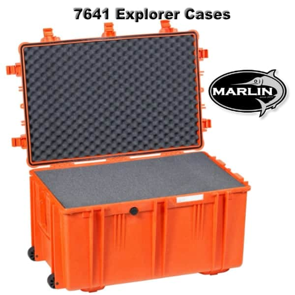 7641 Explorer Cases orange Schaumstoff