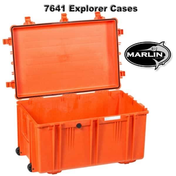 7641 Explorer Cases orange leer