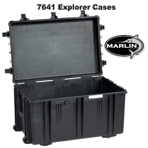7641 Explorer Cases schwarz leer