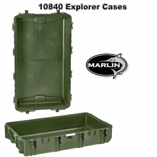 10840 Explorer Cases grün leer
