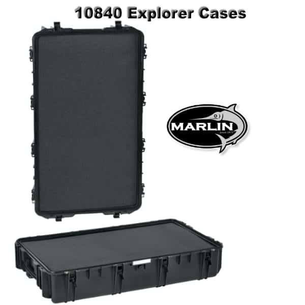 10840 Explorer Cases schwarz Schaumstoff