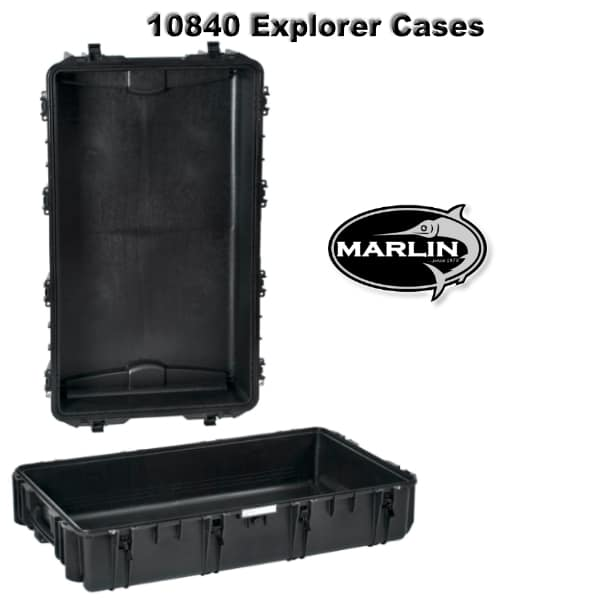 10840 Explorer Cases schwarz leer