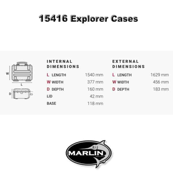 15416 Explorer Cases Dimensionen