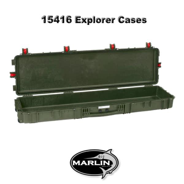 15416 Explorer Cases grün leer