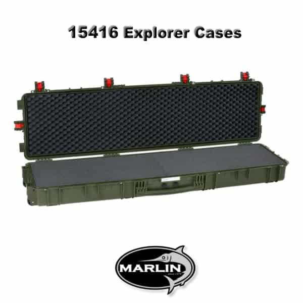 15416 Explorer Cases grün schaumstoff