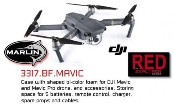 3317 RED DJI Drohne
