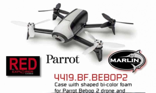 4419 RED Bebop Drohne