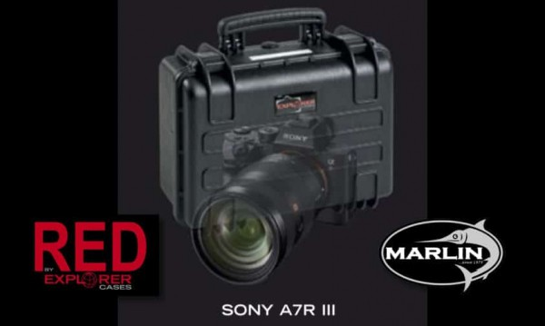 A7R III RED Explorer Cases Sony