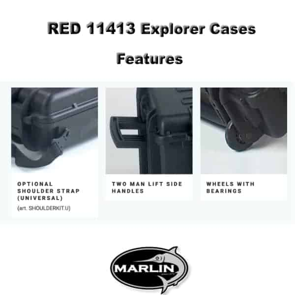 RED 11413 Explorer Cases Features 1