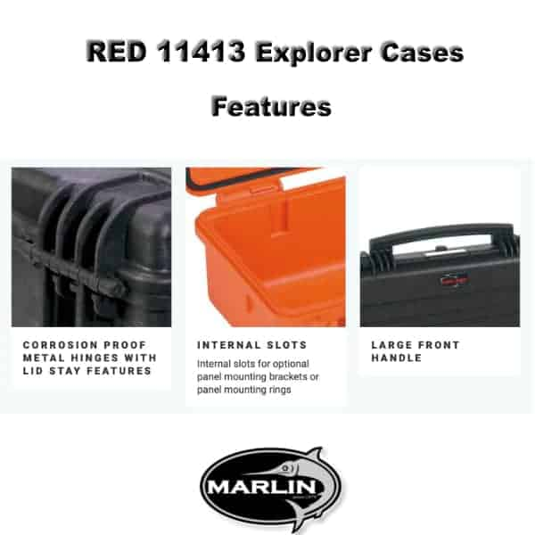 RED 11413 Explorer Cases Features 2