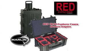 RED 7630 Inspire Explorer Cases | Parrot Drohnen Koffer