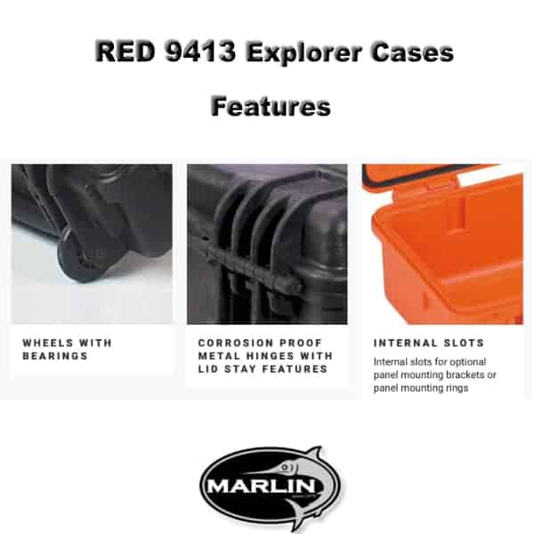RED 9413 Explorer Cases Features 1