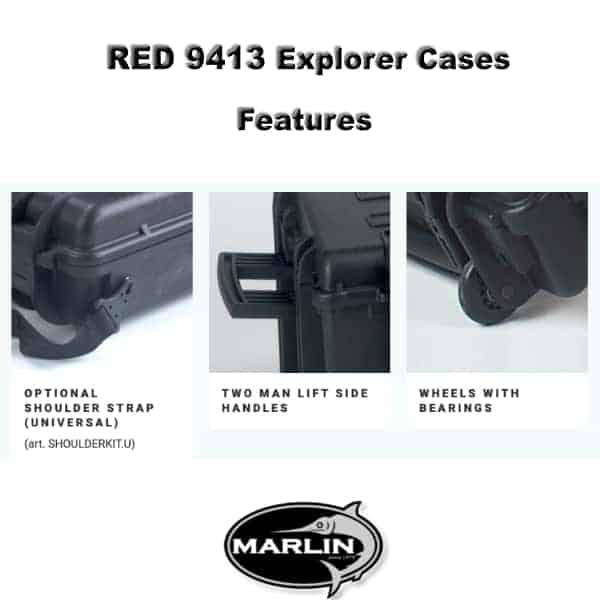 RED 9413 Explorer Cases Features 2