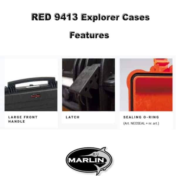 RED 9413 Explorer Cases Features 3
