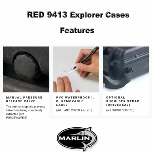 RED 9413 Explorer Cases Features 4
