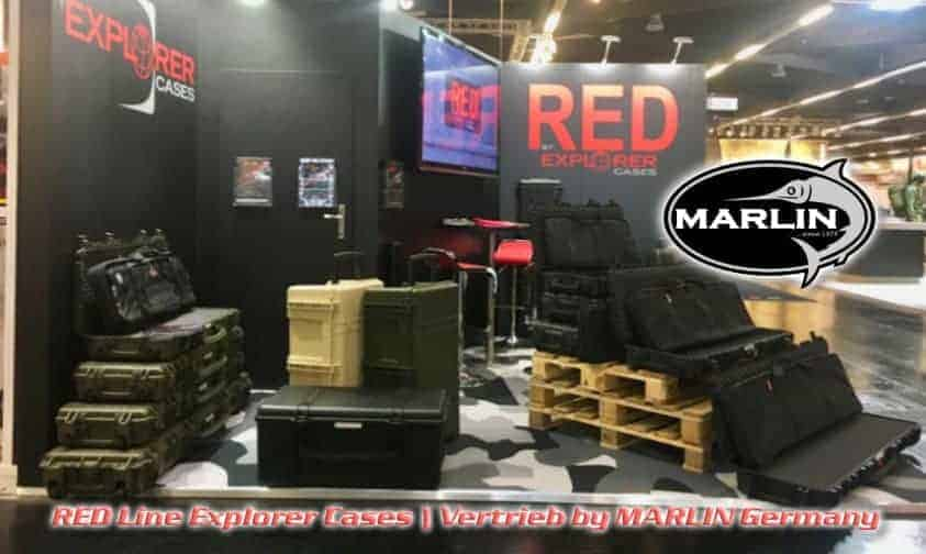 RED Explorer Cases, Vertrieb MARLIN
