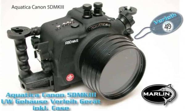Verleih Canon 5DMKIII Aquatica Set mit 2 Ports