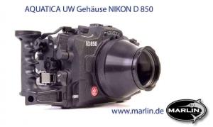 Aquatica UW Enclosure NIKON D 850 1