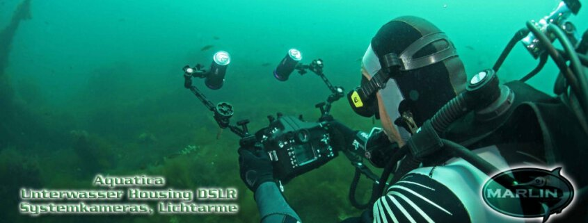 Aquatica Unterwasser Housing DSLR Systemkameras Lichtarme