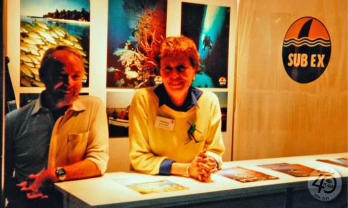 Maria Vollmer und Rene Galster (Subex)