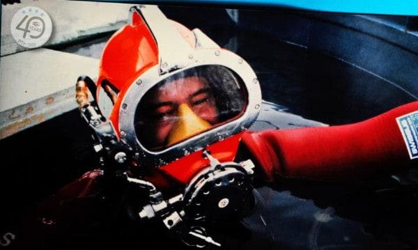 Bild-15.1 UW Inspektionen Comex Helm