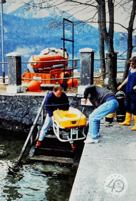 ROV Achilles Projekt Ingot