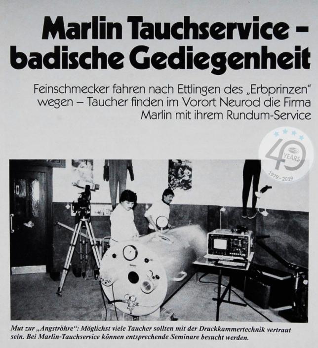Badische Gediegenheit aus Tauchen 1984