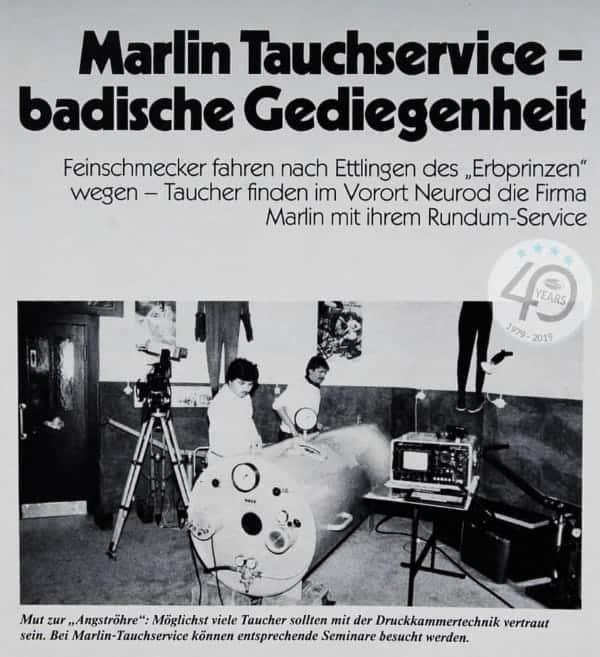 Bild-5.1 Badische Gediegenheit aus Tauchen 1984