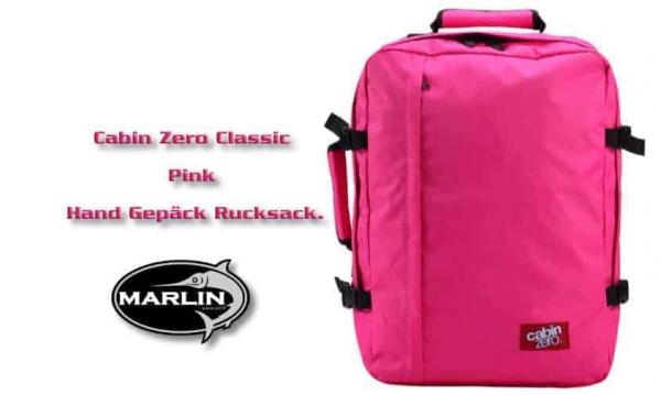 Cabin Classic Zero Pink