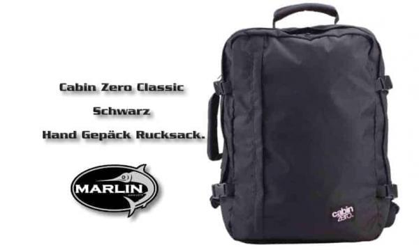 Cabin Classic Zero Schwarz