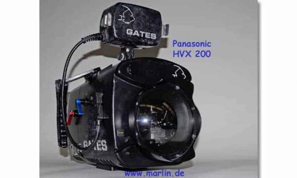 Gates HVX 200 Panasonic und UW Monitor