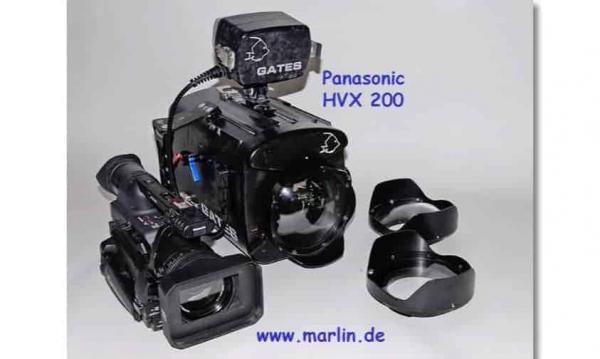 Gates UW Gehäuse mit Kamera Panasonic HVX 200