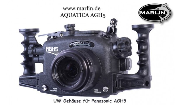 Panasonic Aquatica UW Gehäuse GH5