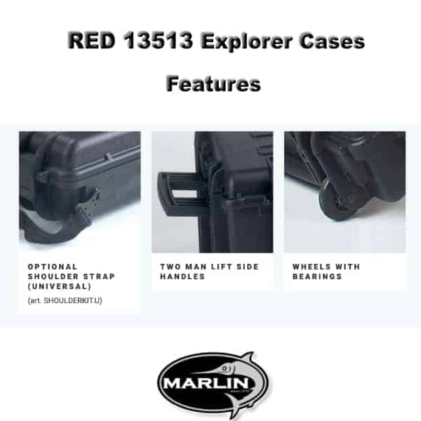 RED 13513 Explorer Cases Features 1
