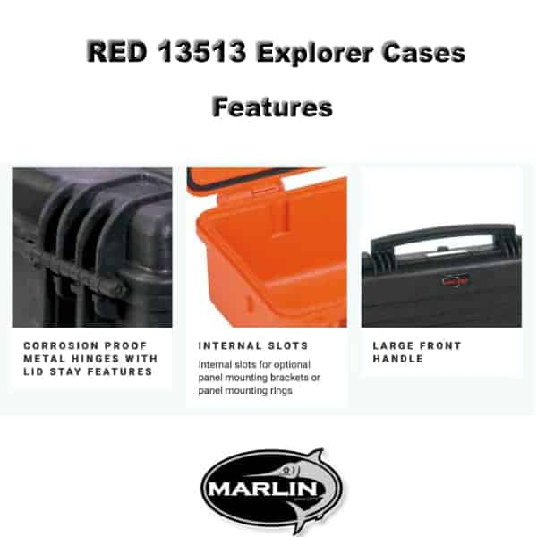 RED 13513 Explorer Cases Features 2