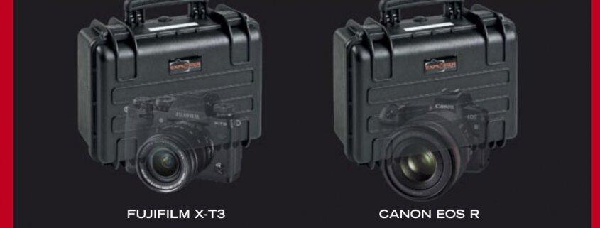 Red Explorer Cases - Canon - Nikon