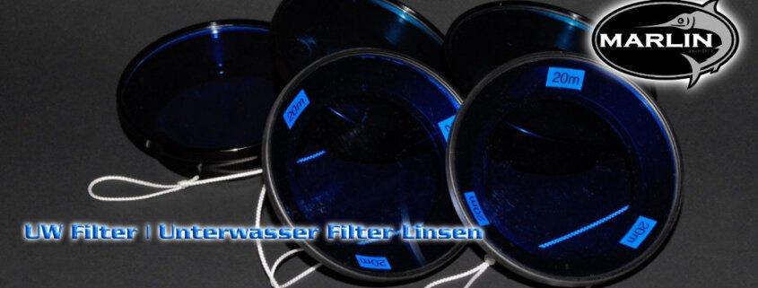 UW Filter, Farbkorrekturfilter für Unterwasserfotografie