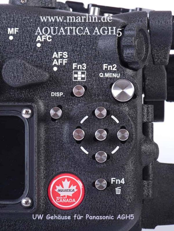 UW Gehäuse von Aquatica Panasonic GH5 4