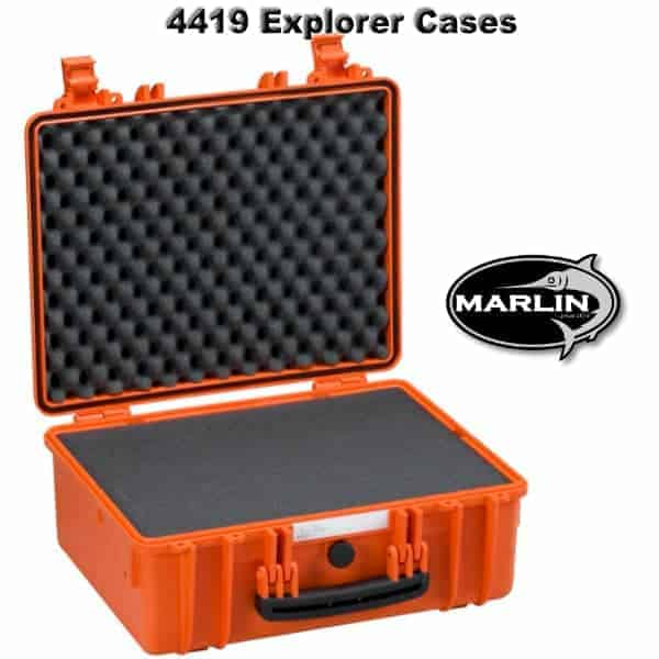 4419 Explorer Cases orange Schaumstoff