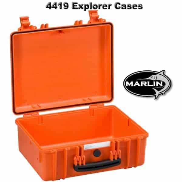4419 Explorer Cases orange leer