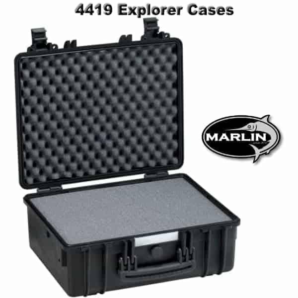 4419 Explorer Cases schwarz Schaumstoff