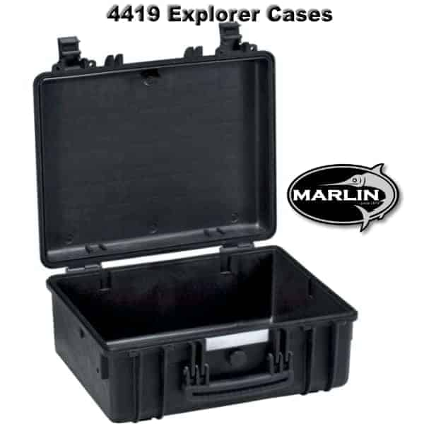 4419 Explorer Cases schwarz leer