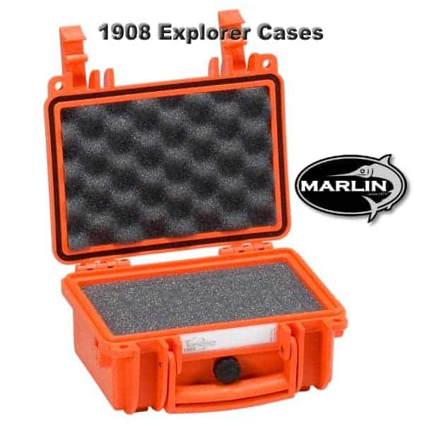 1908 Explorer Cases Orange Schaumstoff