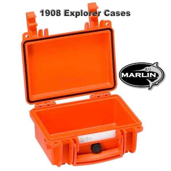 1908 Explorer Cases orange leer