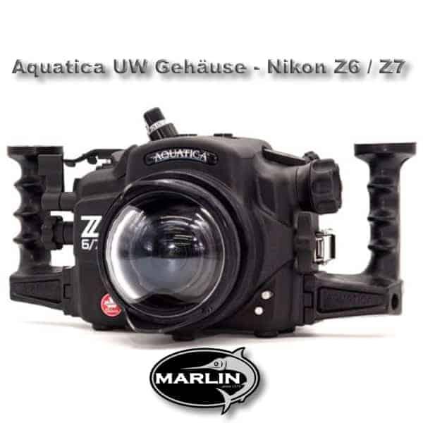 Aquatica UW Gehäuse - Nikon Z6 : Z7